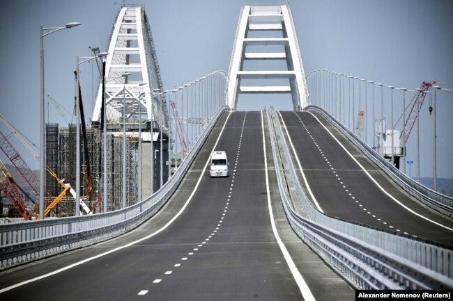 Автомобильная трасса через Керченский мост