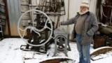 Belarus – Hrodna citizen Yanush Parulis has a unique collection of century-old artifacts & holds a private museum of everyday life and the history of Hrodna. Hrodna, 13Feb2019