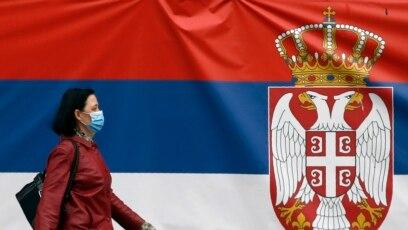 Prizor iz Beograda zabeležen u vreme u kom je Srbija pod vanrednim stanjem preduzetim sa ciljem sprečavanja širenja korona virusa. 13. april 2020.