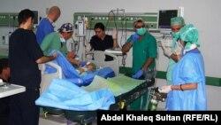 فريق طبي ايطالي يجري عمليات جراحية لاطفال حديثي الولادة في دهوك