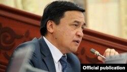 Каныбек Иманалиев, Қырғызстан депутаты.