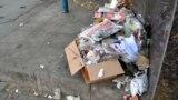 Publicitate electorală la gunoi