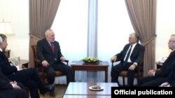 Глава МИД Армении Эдвард Налбандян встречается с сопредседателями Минской группы ОБСЕ, Ереван, 27 марта 2017 г․