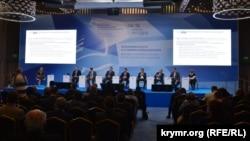 Экономический форум в Ялте, апрель 2016 года. Иллюстрационное фото
