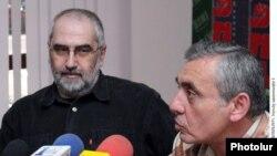 Վահան Արձրունու եւ Արամ Սաթյանի մամուլի ասուլիսը: 21-ը հունիսի, 2011թ.