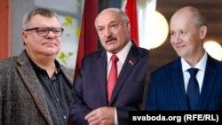 Віктар Бабарыка, Валер Цапкалаі і Аляксандр Лукашэнка