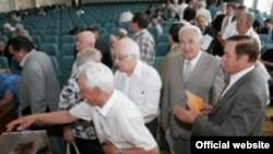 Сайлаулар бара, Татарстан Фәннәр Академиясе җыелышы, 2010 ел.