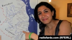 Iran -- Radio Farda journalist Denise Ajiri, winner of the 2012 MJ Bear Fellowship, presented by the Online News Association (ONA), undated