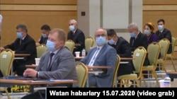 Брифинг по итогам визита миссии Европейского регионального бюро ВОЗ в Туркменистан, Ашхабад, 15 июля, 2020.