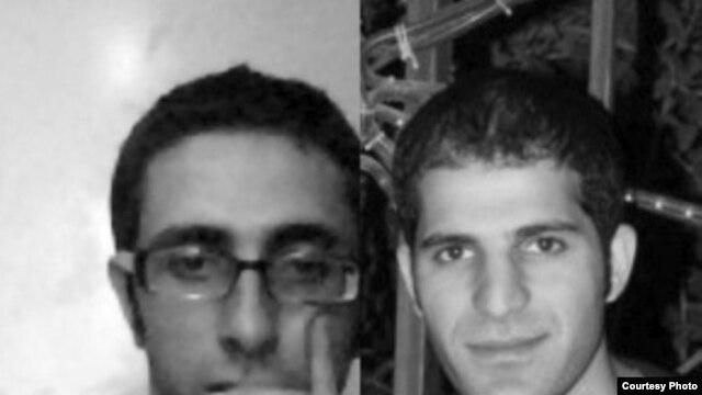 سعید کلانکی (راست) و سعید جلالیفر