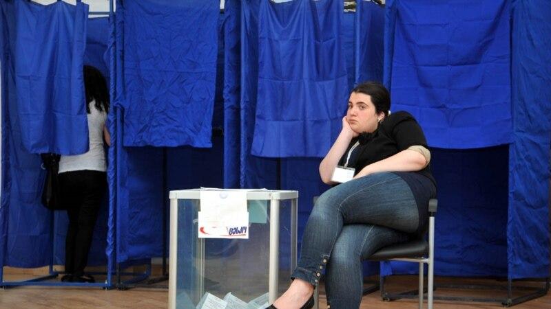 Явка избирателей на грузинских выборах была выше, чем на белоруссих, источник: gdb.rferl.org