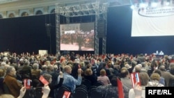 Голосование на чрезвычайном съезде Союза кинематографистов России