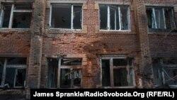 Данецкі шпіталь пасьля абстрэлу 19 студзеня