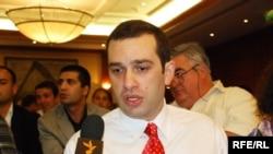 """ირაკლი ალასანია, გაერთიანების - """"ალიანსი საქართველოსთვის"""" - ლიდერი"""