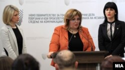 Специјалното јавно обвинителство - СЈО. обвинителките Катица Јанева, Фатиме Фетаи и Ленче Ристоска