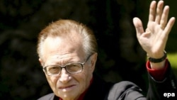 Larry King in 2007