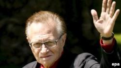 Телеведущий Ларри Кинг. 2007 год.