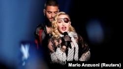 Мадона на наградите Билборд през май 2019