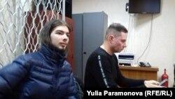 Иван Лузин в суде со своим адвокатом