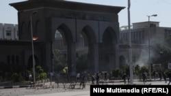 إشتباكات بين طلاب ورجال أمن في القاهرة