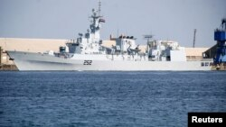 A Pakistani Navy ship. (file photo)