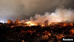 Експлозијата во фабриката за ѓубрива во Тексас
