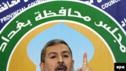 رئيس مجلس محافظة بغداد كامل الزيدي