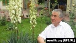 Узбекский писатель Нурулло Отаханов.