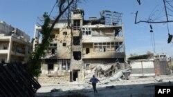 Սիրիա - Տեսարան վերջին ամիսներին ռազմական գործողությունների թատերաբեմ դարձած Հալեպից
