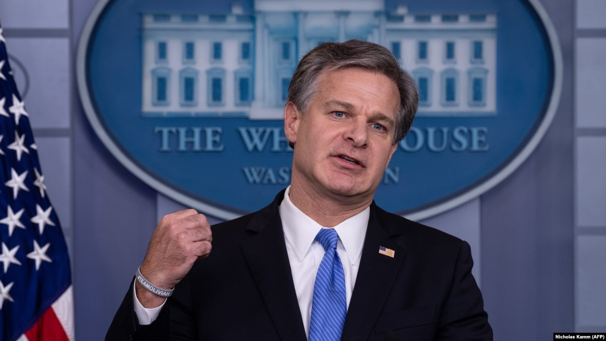 FBI Chief Warns Of Russian Interference In 2020 U.S. Presidential Election