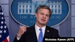 FBI Director Christopher Wray (file photo)