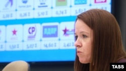 Moscow Regional Election Commission spokeswoman Irina Konovalova says the chairman of the Mytishchi election commission has been asked to report on Novaya Gazeta's allegations (file photo).