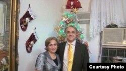کشیش فرهاد و همسرش شهناز