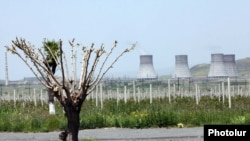 Armenia - A view of the Metsamor nuclear power plant.