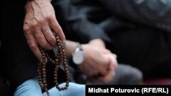 Detalj sa molitve u Begovoj džamiji u Sarajevu