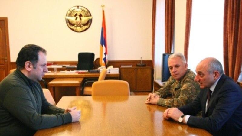 Բակո Սահակյանը ընդունել է Վիգեն Սարգսյանին