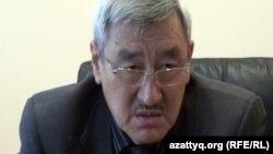 """Абдижали Тажимуратов, директор компании """"Троллейбусный парк"""". Актобе, 12 октября 2013 года."""