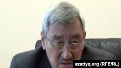Ақтөбедегі «Троллейбус паркі» ЖШС директоры Әбдіжәли Тәжімұратов. Ақтөбе, 12 қазан 2013 жыл.