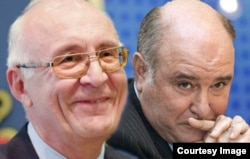 Вопросы транзитных коридоров рассматривались на встречах Зураба Абашидзе (слева) и Григория Карасина в Праге