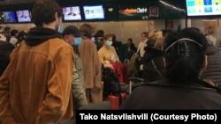 Граждане Грузии в аэропорту Рима (иллюстративное фото)
