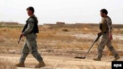 Гильменд провинциясында жүрген Ауғанстан әскерилері.