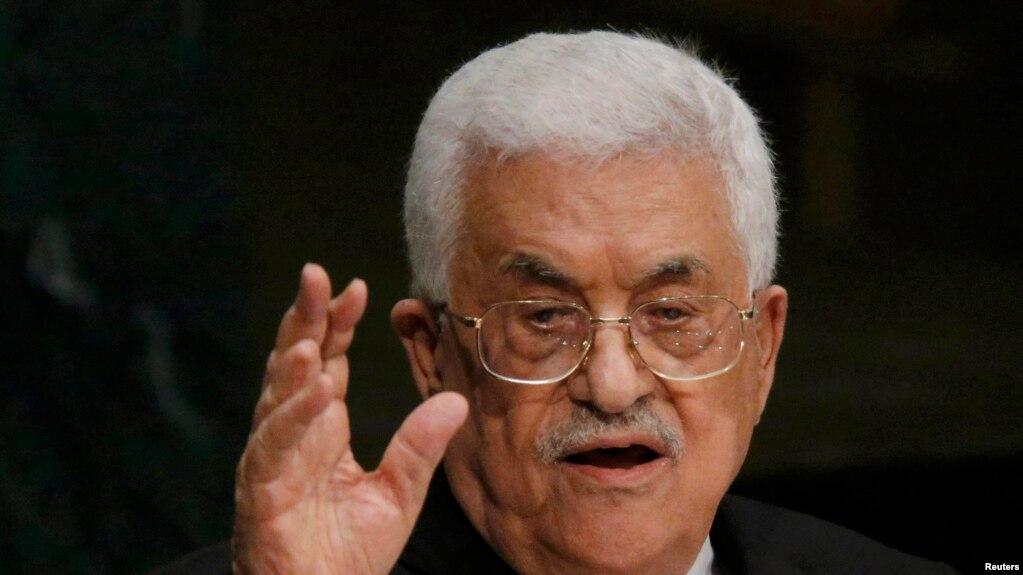 Махмуд Аббас, глава Палестинской автономии.