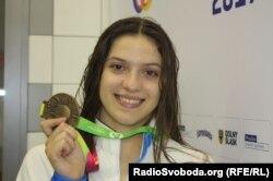 Анастасія Антоняк здобула для України дві бронзові нагороди