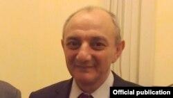 Президент Нагірного Карабаху Бако Саакян (архівне фото)