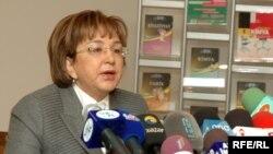 председатель ГКПС Малейка Аббасзаде.