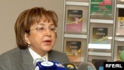 Председатель Госкомиссии по приему студентов Малейка Аббасзаде