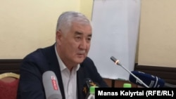 Кандидат от движения «Улт Тагдыры» для участия в предстоящих 9 июня внеочередных выборах президента Казахстана. Алматы, 26 апреля 2019 года.