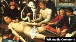 Картина Суд Камбиса голландского художника Герарда Давида.