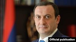 Armenia - Hovhannes Hovsepian, head of the State Revenues Committee, undated