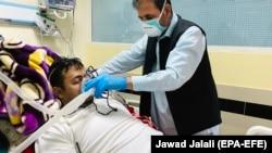 آرشیف، بیمار ویروس کرونا در افغانستان